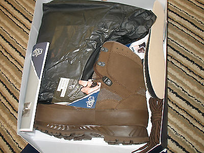 British Army Issue, Brown, Haix, Suede Boots, Size 10W