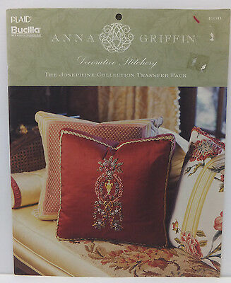 Anna Griffin Decorative Stitchery Transfer Pack & Embroidery Patterns Book