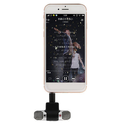 Portable Mini Mic Digital Stereo Microphone for Recorder Mobile Phone AG