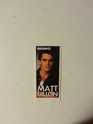 Matt Dillon   //  Sticker   _   001