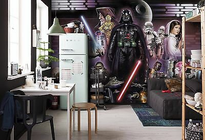Wall Mural Photo Wallpaper STAR WARS DARTH VADER COLLAGE Kids Room Decor GIANT!