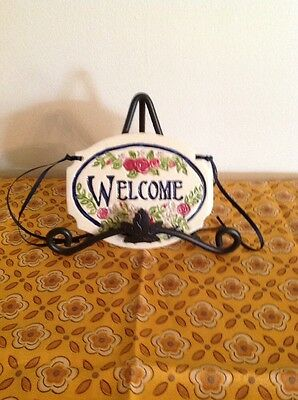 Longaberger Homestead Exclusive Tour With Me Carol Berry Welcome Sign Plaque