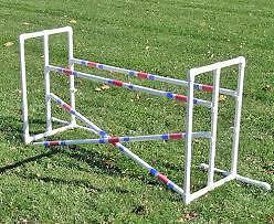 New Affordable Agility Double Dog Jump Obedience Sport Dog Training Pvc Pipe