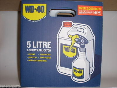 Wd40 5 Litre + Applicator Wd-40 5Ltr Multi-Use Lubricant - Special Offer!!