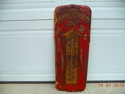 """Vintage Drink Royal Crown Cola Thermometer 1950's    26"""" X 9"""""""