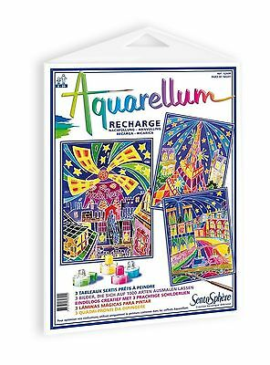 Sentosphere-6260R-Creative Leisure-Aquarellum Refill-Paris by Night