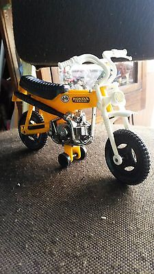 Vintage Honda Trail 70 Motorcycle Diecast Toy