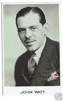 John Watt Actor Crooks tour Hand  Signed Photograph 5 x 3