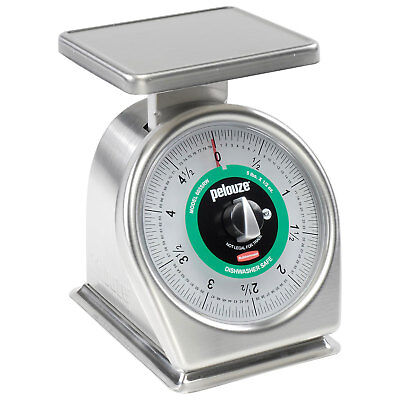 Dial Portion Control Scale Stainless Steel With Rotating Dial, 5 Lb. Cap.