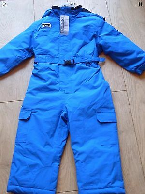 Glacier Point - Little Boys Snow / Ski Suits - Age 4-5 Years - Blue - Bnwt