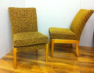 Pair Fine Mid Century Cocktail Chairs Parker Knoll 747 Vintage 1950s