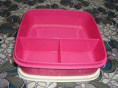 Tupperware Fun Meal Lunch Set Pink - New