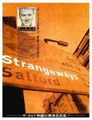 the Smiths POSTER Strangeways Here We Come  *LARGE*  Promo Morrissey Johnny Marr