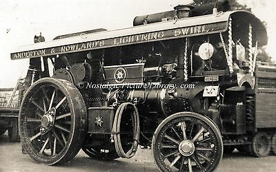 """TR 66  FOWLER STEAM TRACTION ENGINE No 19782 """" THE LION """""""
