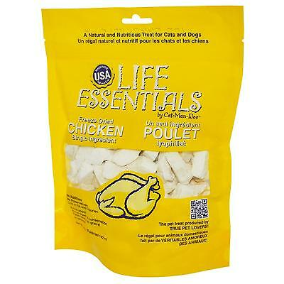 Cat-Man-Doo, Life Essentials, Freeze Dried Chicken for Cats & Dogs, 2oz
