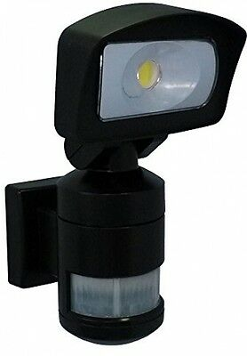 NightWatcher NW520B Robotic AC LED Security Light - Black