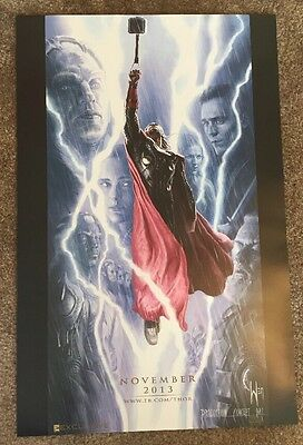 SDCC 2016 Marvel Exclusive THOR Movie Production Concept Art Poster