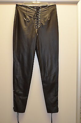 North Bound Leather Leder Hose Pants Nr LLP2  Gr XL Länge 113 cm Pos 110