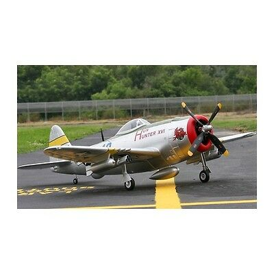 RC P-47 Thunderbolt Electric RC Plane with Retracts - ARF.