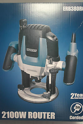 NEW Erbauer ERB380ROU 2100W Router 230-240V