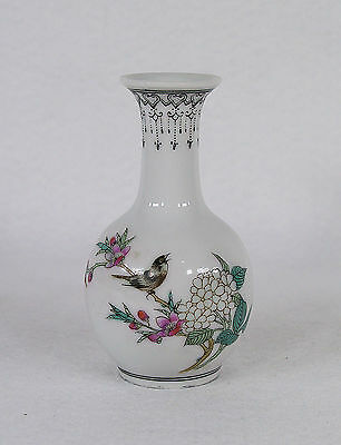 Old Chinese Hand Painted Porcelain Miniature Vase Signed