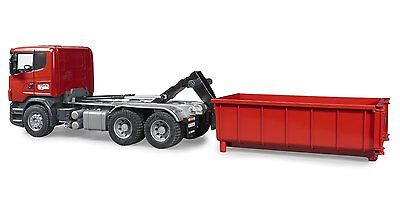 BRUDER 3522 Scania R Camion + container  Scala 1:16