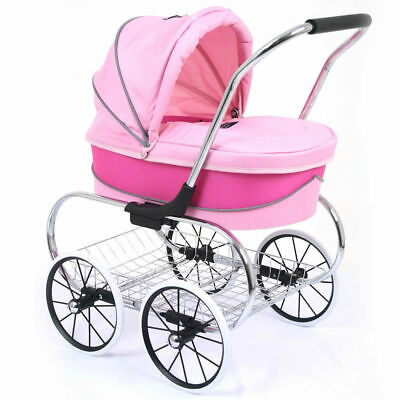 Valco Baby Just Like Mum Princess Doll Stroller/Mini Pram Toy Kid/Children Pink