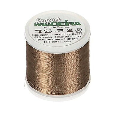 Med Taupe -Madeira Rayon Thread