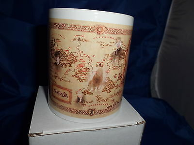 Narnia Map With Faces On Mug