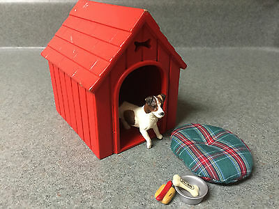 Breyer Dog House Play Set with Jack Russell Terrier