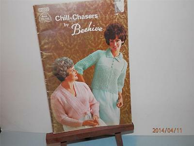 Beehive -  Chill Chasers  -   Book #112 - Knit  Crochet - Ponchos  Slippers Etc