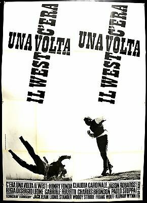 C'era Una Volta Il West Manifesto Cinema Poster Movie Leone Cardinale Fonda Cult