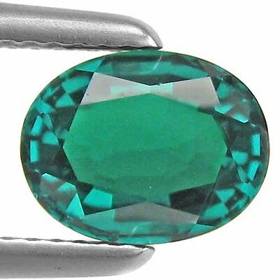 2.00Cts.fine Oval Shape 7X9 Mm High Created Biron Emerald Loose Gemstone
