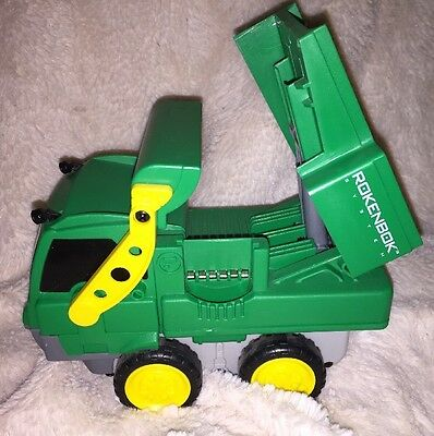 ROKENBOK Building System Wireless RC Remote Control Dump Truck Moveable NEW