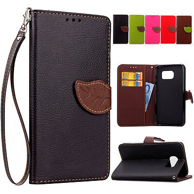 Luxury Fashion Flip Stand Cover Wallet Leather Card Case For Samsung Galaxy