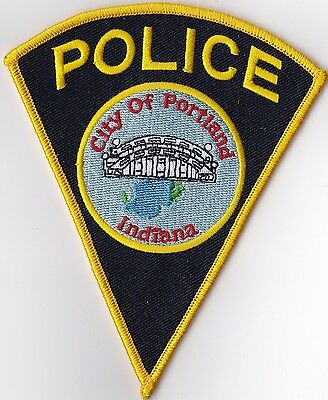 City of Portland Police Patch Indiana IN NEW!!