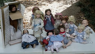 Little House On The Prairie Doll Set 8 -Ashton Drake - Plus 5 more dolls