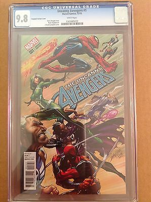 CGC 9.8 Uncanny Avengers #1 Campbell Variant Cover
