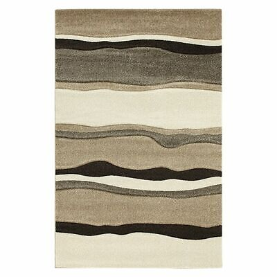 NEW Rug Culture Icon Storm Latte Modern Rug