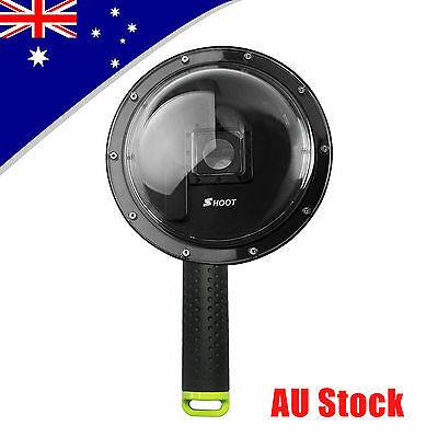 """SHOOT 1.0 Version 6"""" Dome Port Lens Diving Camera Cover Case for GoPro Hero 3+/4"""