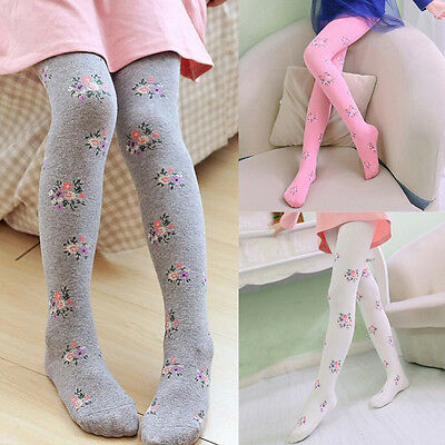 Girls Kids Children Sheer Cotton Tights Pantyhose Stockings Dnacing Ballet Socks