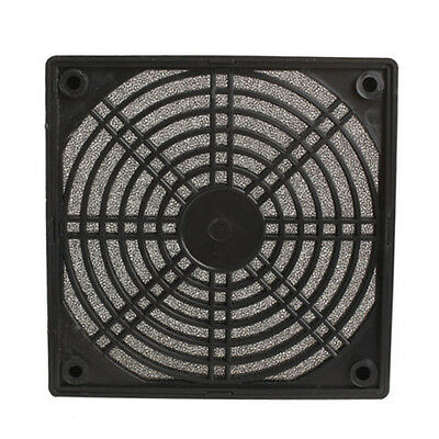 H&E Dustproof 120mm Mesh Case Cooler Fan Dust Filter Cover Grill for PC Computer