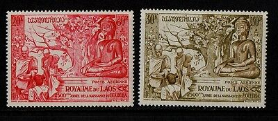 1956 Laos Air Stamp(Mnh) S.g.70-73
