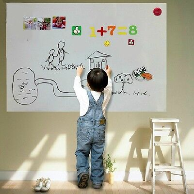 USA 45*60cm Creative Magnetic Whiteboard Soft White board For Kids Office School