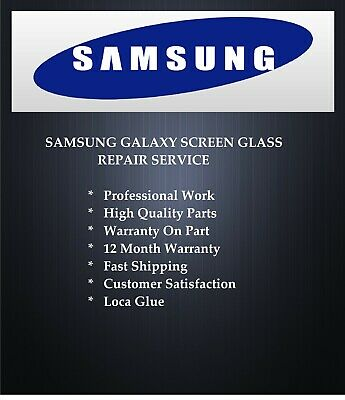 Samsung Galaxy S6 broken cracked screen glass repair replacement service