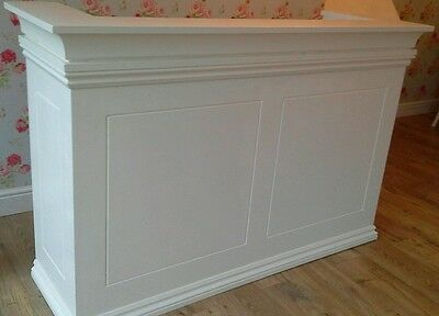 Reception desk with a draw, unPainted,XX Was £320 XX Now £270 XX FREE DELIVERY.