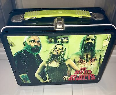 THE DEVILS REJECTS Lunchbox 2005 Neca ROB ZOMBIE Horror Hot Topic OOP RARE HTF