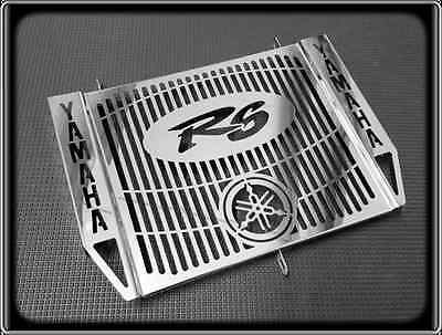 RADIATOR GRILL for YAMAHA R6 YZF 600 R, 1998 to 2002 (POLISHED COVER GUARD)