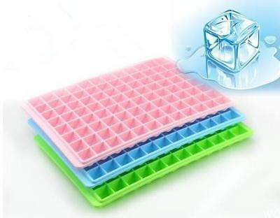 96 Cavity Ice Cube Tray Box With Lid Cover Drink Jelly Freezer Mold Mould Maker