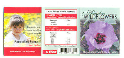 Australia Wildflowers mnh booklet complete-Flowers